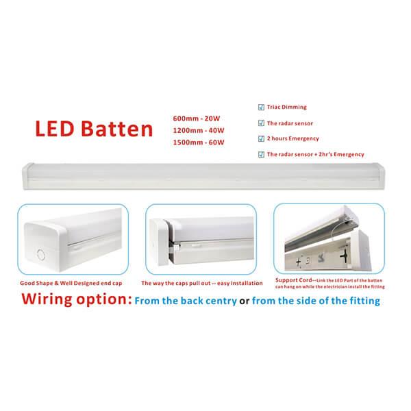 Batten-LED - Prestige Lighting